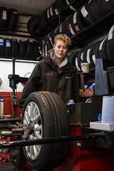 Emma Holden. Motor Vehicle Apprenticeship