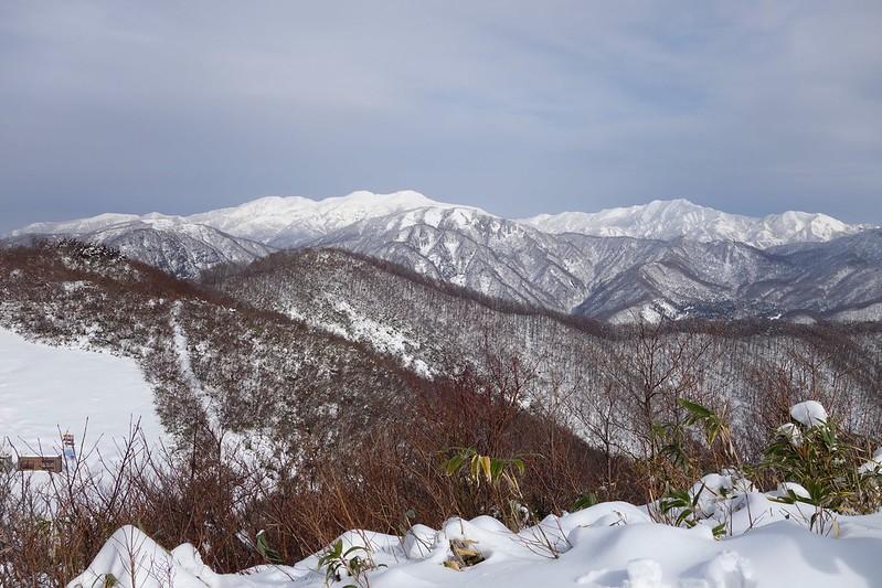 白山禅定道その4 報恩寺山からの光景