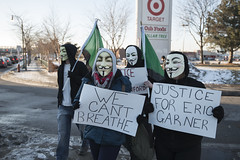 Anonymous Minnesota stands with Ferguson