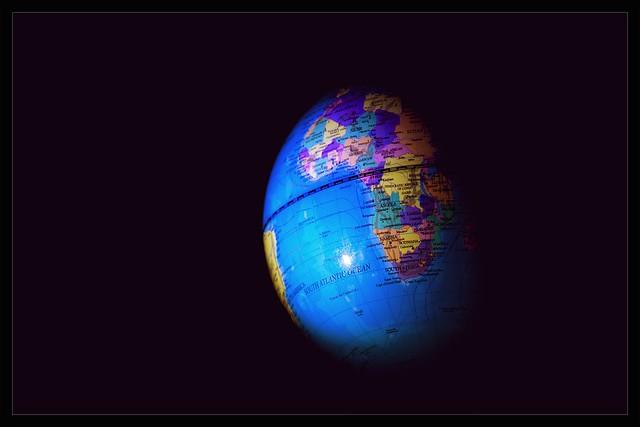 globe from Flickr via Wylio
