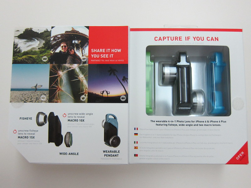 Olloclip 4-in-1 Photo Lens for iPhone 6/6 Plus - Box Open