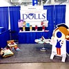 Setting up booth#103 for tomorrow's big opening day at #chitag on Navy Pier in #chicago #blogger #blog #bodyimage #boomerica #csd #college #doll #saving #education #finance #futredoll #gift #healthy #holidaygift #money#play #playinchicago #toys #women