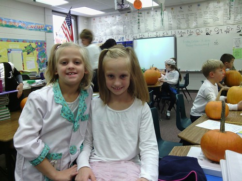 Oct 31 2014 2nd grade pumpkin party