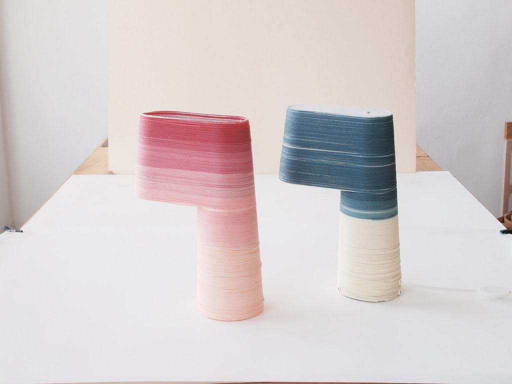 AndreyAndShay - woven lamps