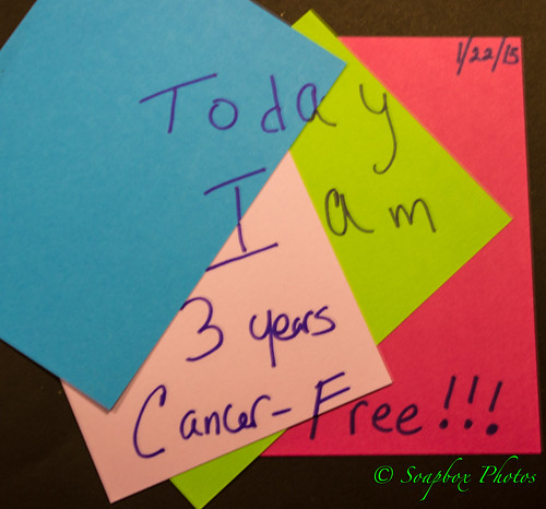 """3 Years Cancer Free"""