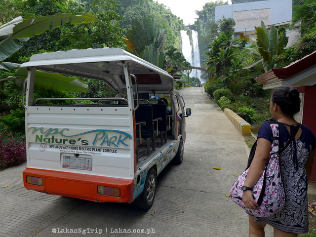 Shuttle at NPC Nature's Park. Maria Cristina Falls in Iligan City, Philippines