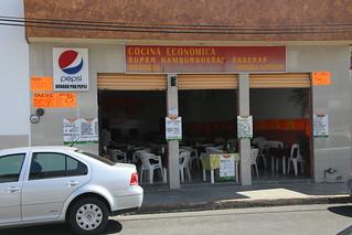Cheap local food.  Playa Del Carmen, Mexico.