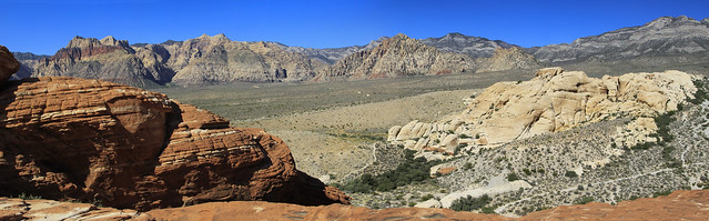 Red Rock Canyon Panorama (2)