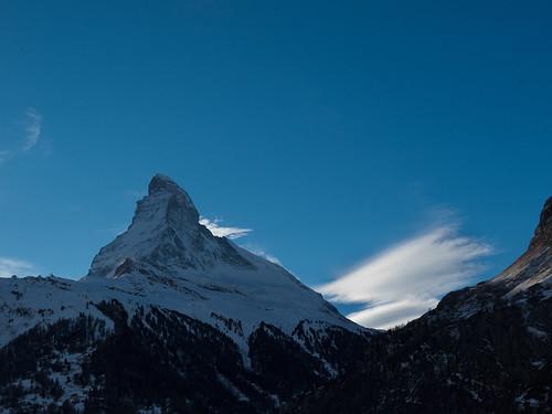 mountains clouds landscapes