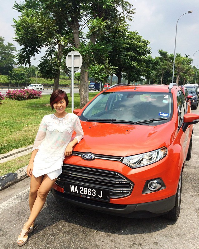 Rebecca SAw - Ford Ecosport review - melaka