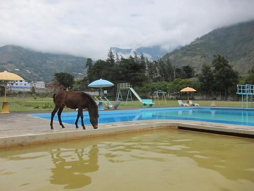 Santa Ana hot springs - Baños, Ecuador