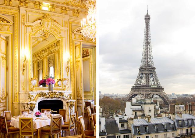 visiting the Shangri-La hotel Paris