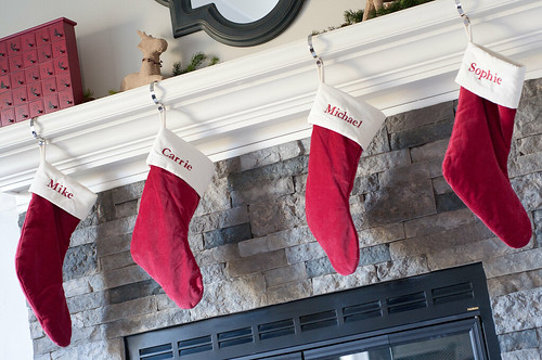 Clearance Rack Christmas Mantel Decor