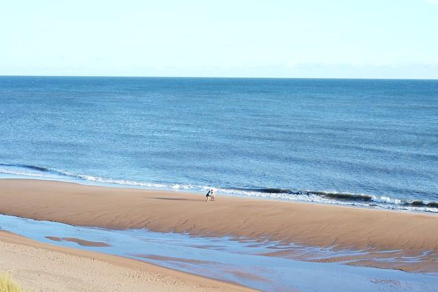 Balmedie beach Scotland