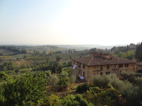 A Tuscan Valley – pure bliss and relaxation