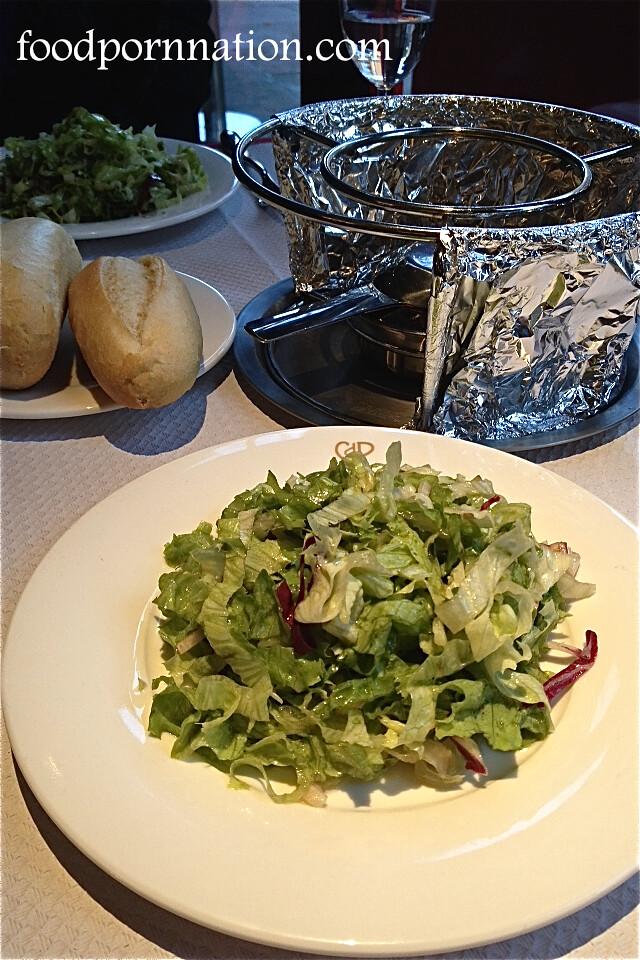 Green Salad - Chez Boubier