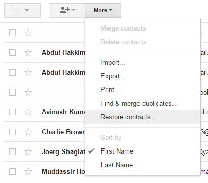restore-gmail-contact