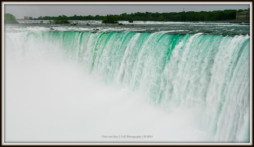 Water on the move, Niagara Falls USA/Canadian Border