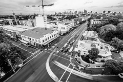 Camperdown City Skyline B&W-5