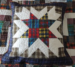 Flannel Pillow - FMQ Challenge for February
