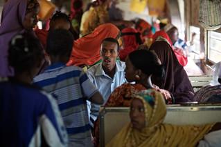Passengers aboard Ethiopia-Djibouti train, Ethiopia