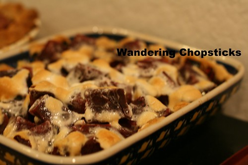 Candied Okinawan Purple Sweet Potatoes with Marshmallow Topping 1