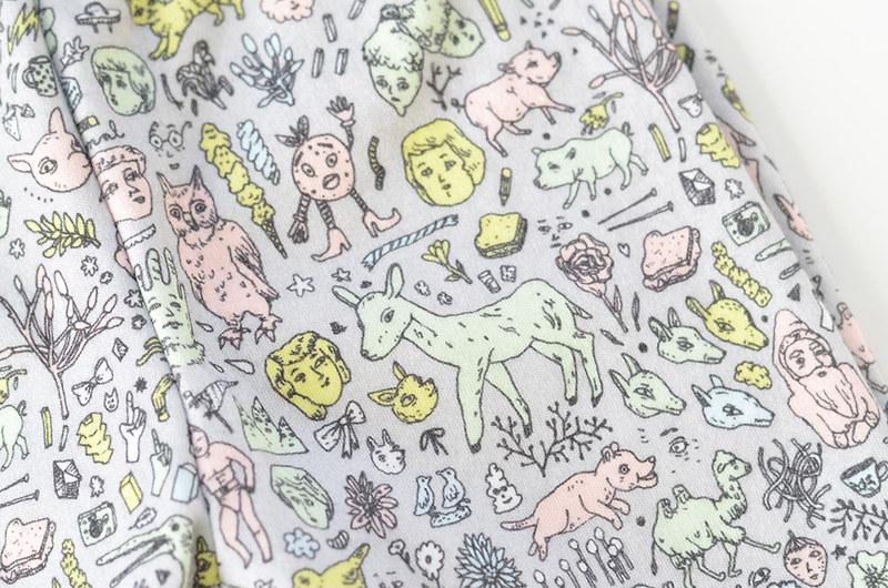 Organic Cotton Doodletown Baby Leggings