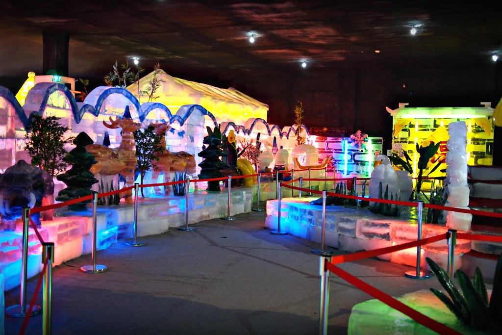 台中高鐵-2015正宗哈爾濱冰冰燈冰雕展-65