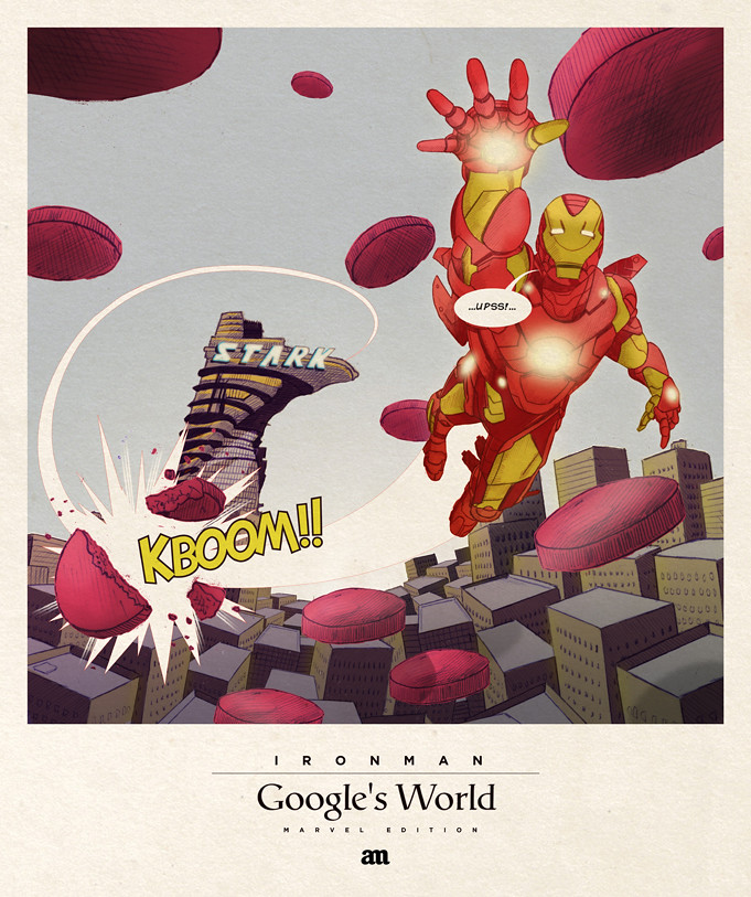Ironman 'Google's World - Marvel Edition'