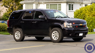 Saanich Police Unmarked Chevy Tahoe K9 Unit