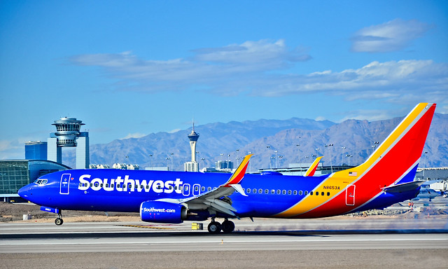 N8653A SOUTHWEST AIRLINES 2014 BOEING 737-8H4 s/n  37037