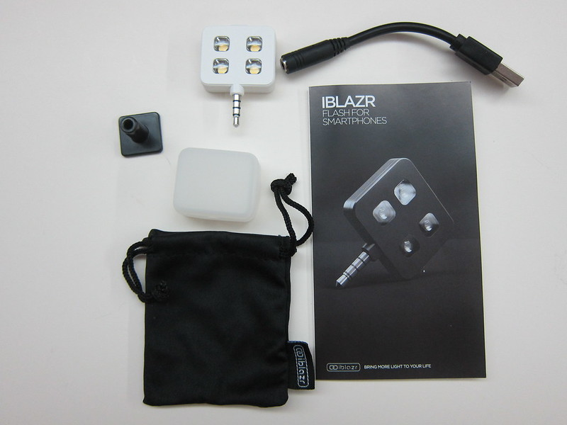 iblazr - Box Contents