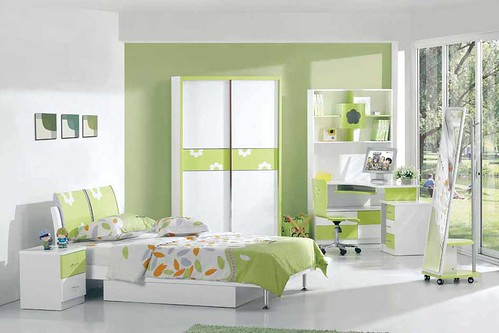 Colorful Interior Kids Bedroom Design
