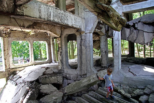 Image of Westerplatte. boy poland bunker gdansk westerplatte
