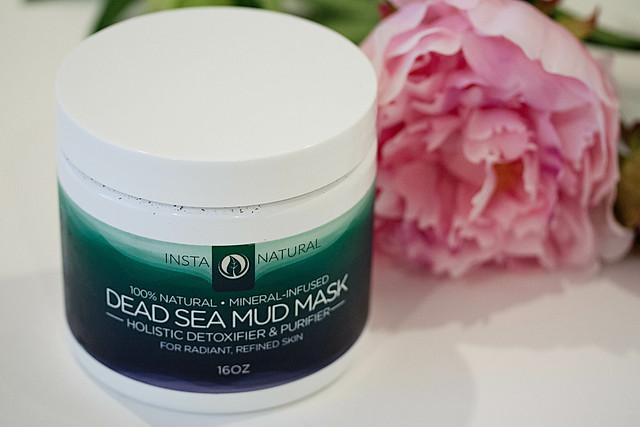 https://cuteandlittle.com | fashion beauty blog | instanatural dead sea mud mask review