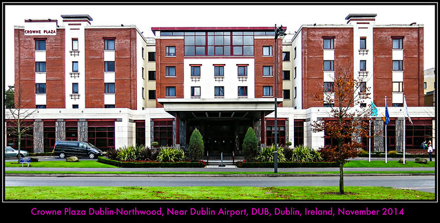|| Our Stay at the Crowne Plaza Hotel, Dublin-Northwood, Dublin, Ireland || Near DUB Airport || Club Room || November 2014 ||