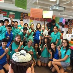 Birthday cupcakes! #Megha #tgif