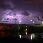 A little Florida lightning!