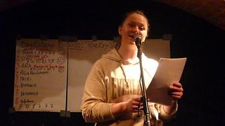 Alice Reichmann - textstrom Poetry Slam - Wien