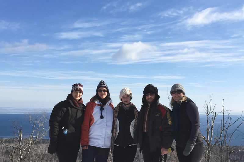 Oberg Mountain Hiking Crew - Elysia, Sara, Heather, Jay & Kasie