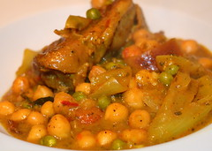 Pork and Spicy Chickpea Curry