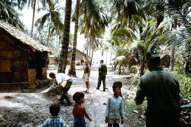 Vietnam War 1968 - Shady Village Children