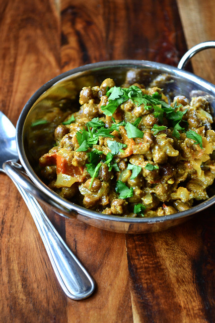 Brown Chickpea Bhuna Recipe