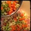 Cucina Dello Zio #homemade #Minestrone Soup #CucinaDelloZio - carrots & celery