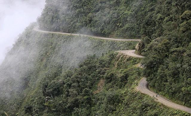 Carretera de Los Yungas (Bolivia)