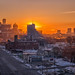 Detroit Sunrise by Lou Peeples