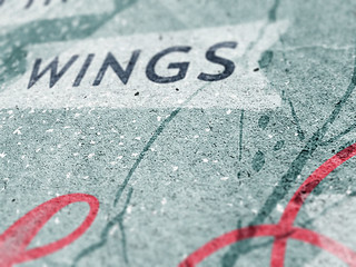 Sadness flies away on the wings of time - Detail