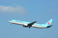 Korean Air Boeing 737-900 HL7717 NRT