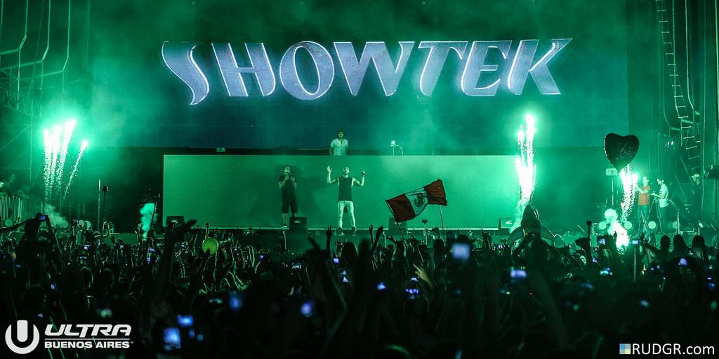 Showtek @ Ultra Buenos Aires 2015