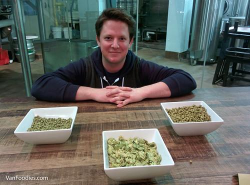 Nick Posloski, GIB's temp brewmaster